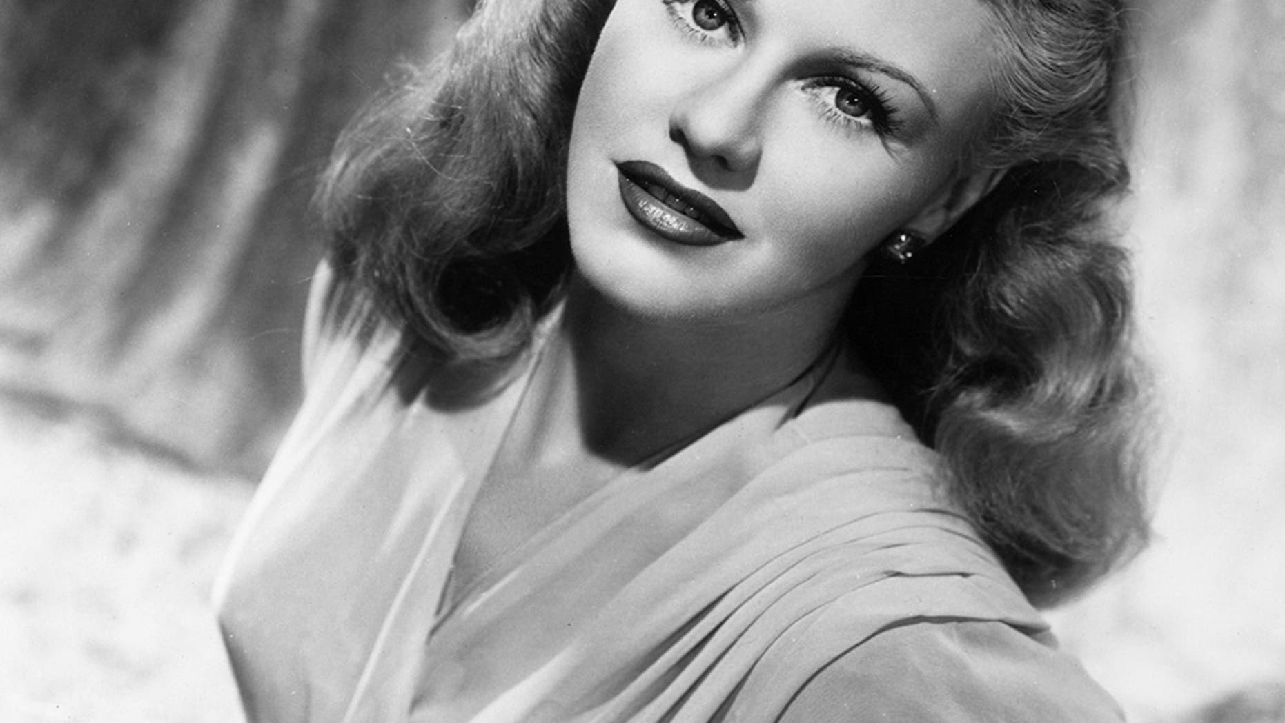 Ginger Rogers in 1945.