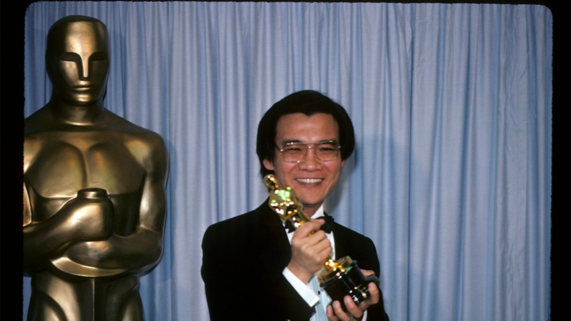"""Actor Haing Ngor won """"Best Supporting Actor"""" for his role in """"The Killing Fields"""" at the 1985 Oscars."""