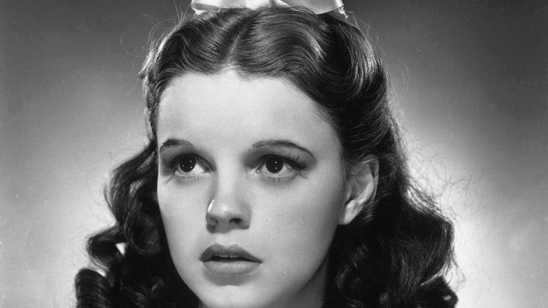 "Judy Garland in ""The Wizard of Oz."""