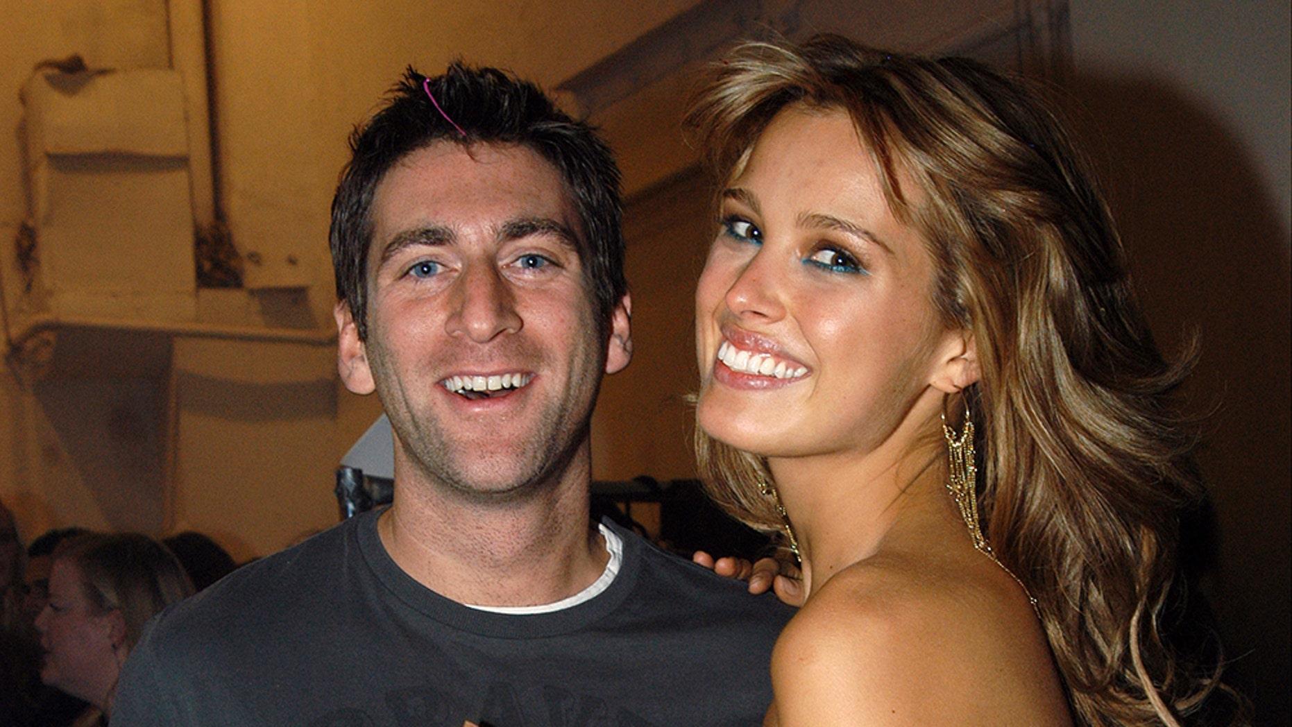 Model Petra Nemcova and her boyfriend, British photographer Simon Atlee.