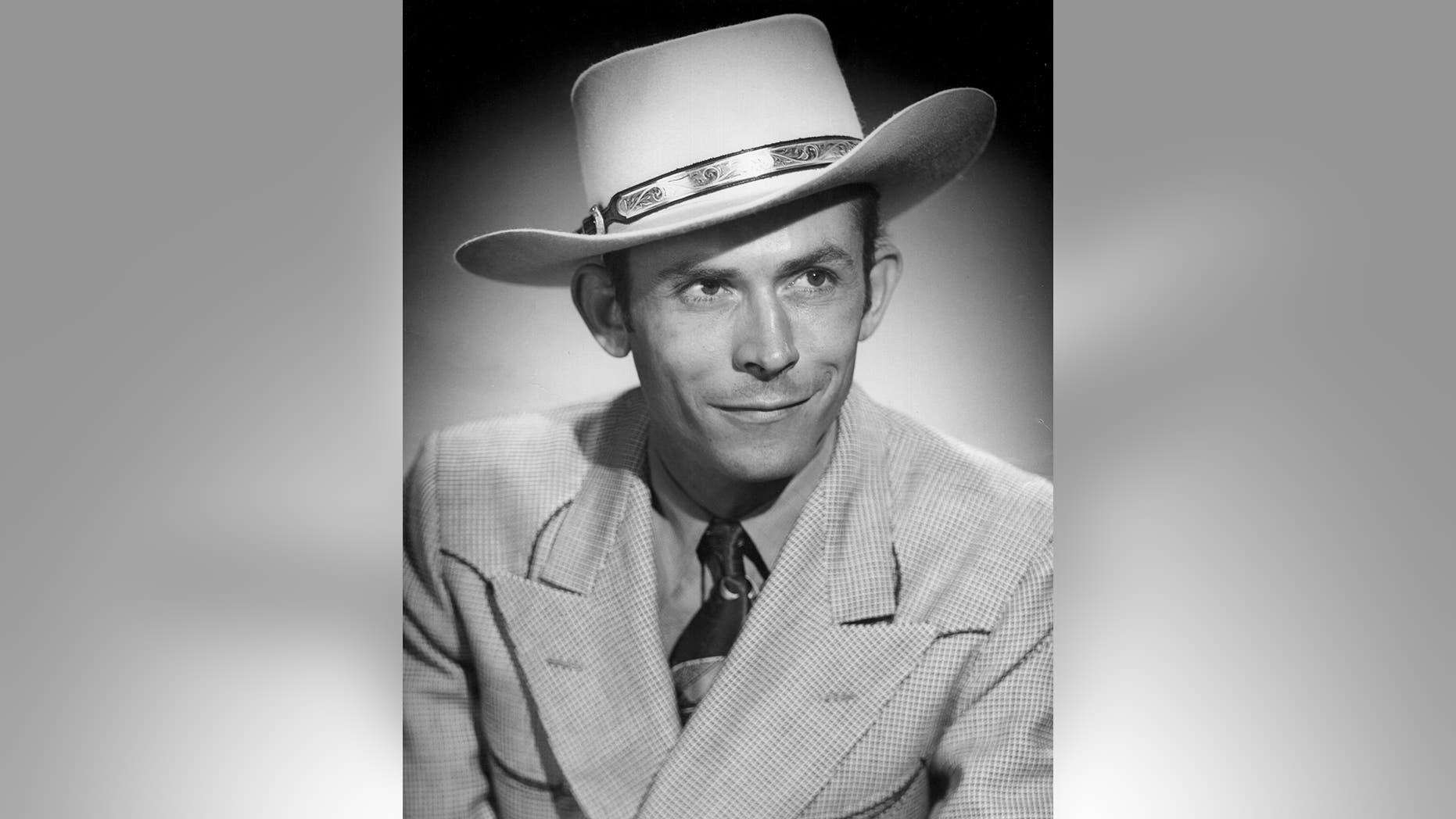 Hank Williams in 1948.