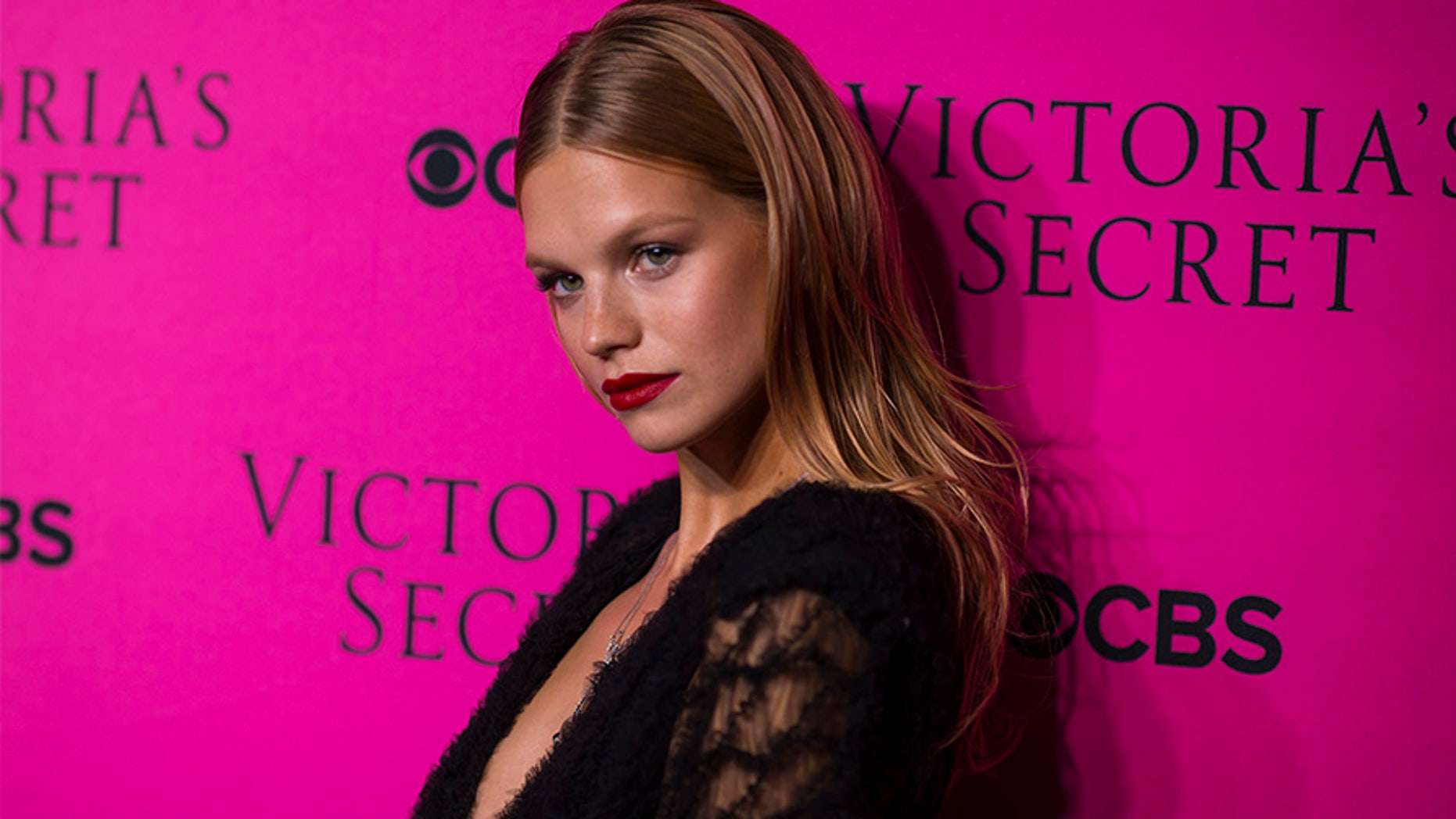 NEW YORK, NY - NOVEMBER 28:  Nadine Leopold attends the 2017 Victoria's Secret Fashion Show viewing party pink carpet at Spring Studios on November 28, 2017 in New York City.  (Photo by Michael Stewart/WireImage)