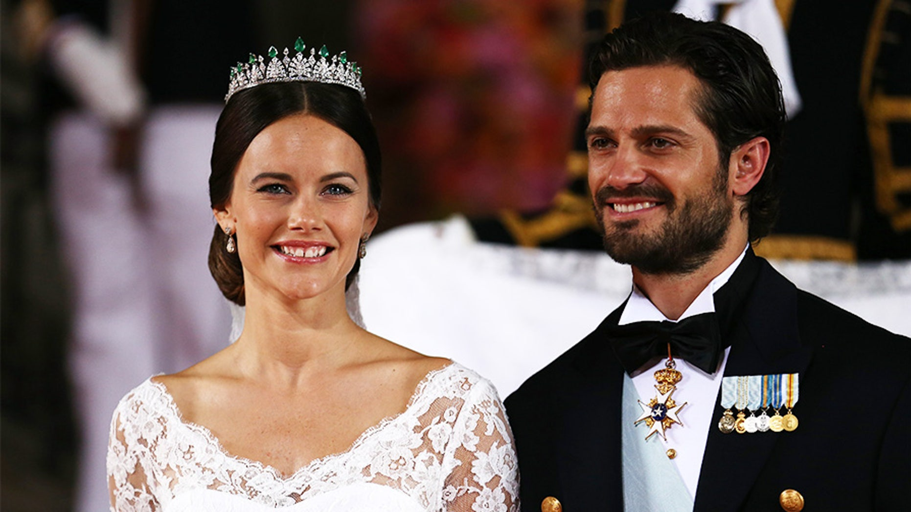 Princess Sofia of Sweden said she endured online bullying when she first began dating Prince Carl Philip.