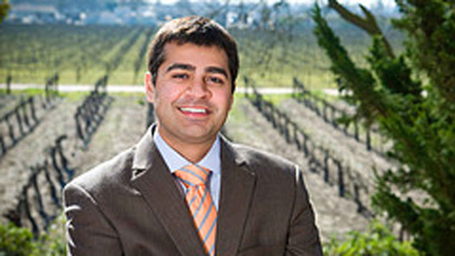 GOP House candidate Ricky Gill, 25,  of California, is among the Republican Party's most promising candidates.