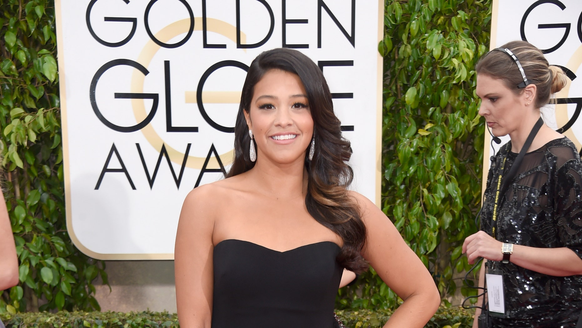 BEVERLY HILLS, CA - JANUARY 11:  Actress Gina Rodriguez attends the 72nd Annual Golden Globe Awards at The Beverly Hilton Hotel on January 11, 2015 in Beverly Hills, California.  (Photo by Frazer Harrison/Getty Images)