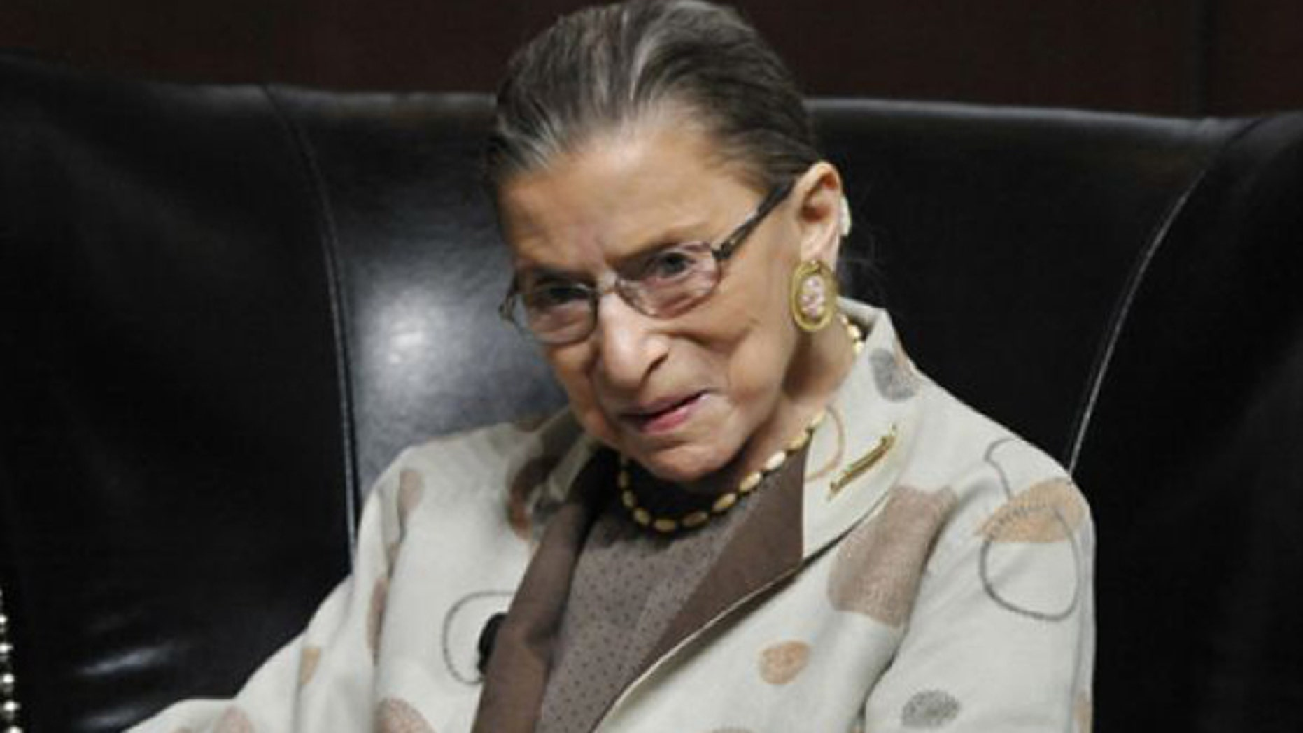 May 11, 2013: U.S. Supreme Court Justice Ruth Bader Ginsburg discusses the Roe vs. Wade case on it's 40th anniversary at The University of Chicago Law School in Chicago