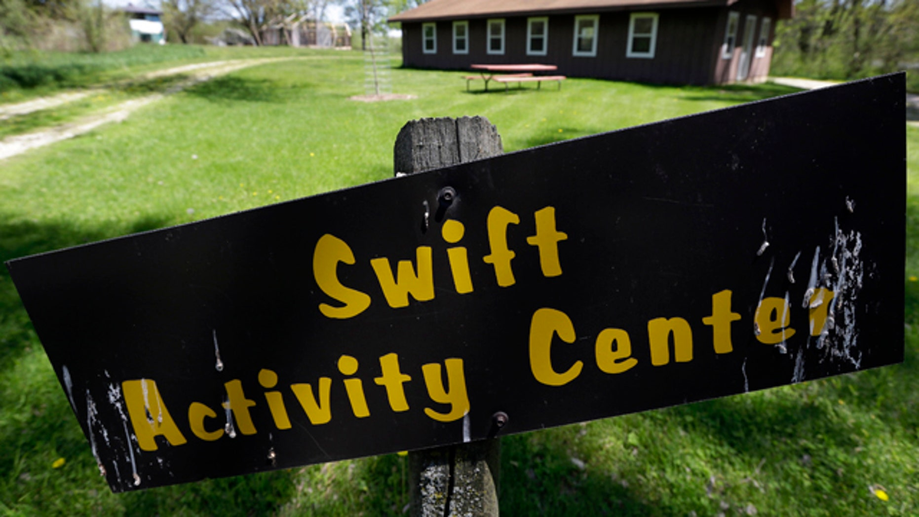 May 14, 2013: The Swift Activity Center at the Camp Conestoga Girls Scouts camp in New Liberty, Iowa.