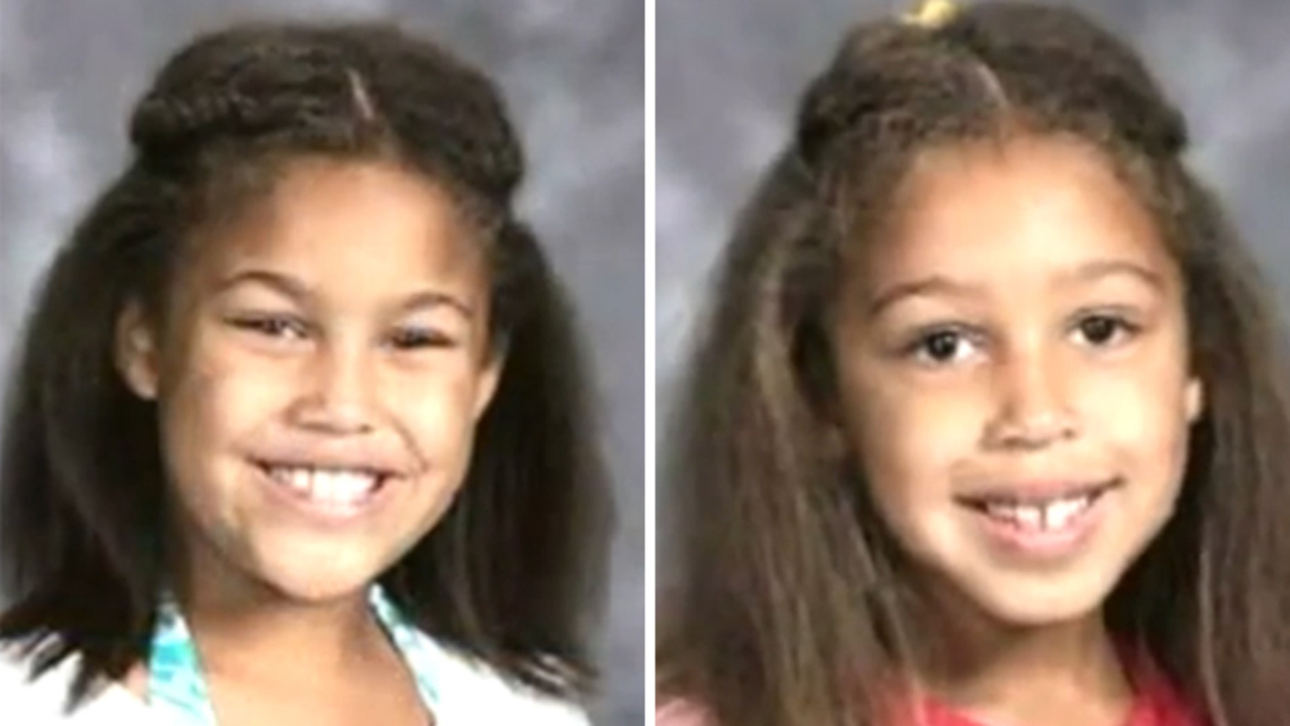 Mar. 18, 2012: This photo shows two of the Missouri girls found shot to death in a campground Saturday, along with their mother and younger sister.
