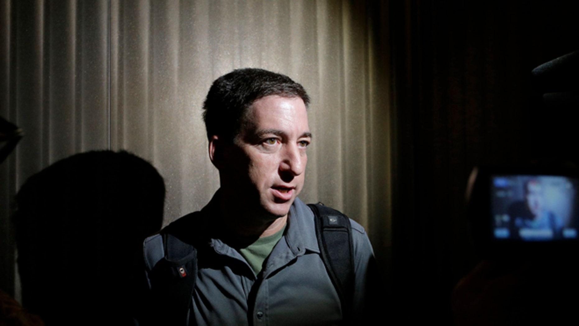 The Guardian reporter Glenn Greenwald.