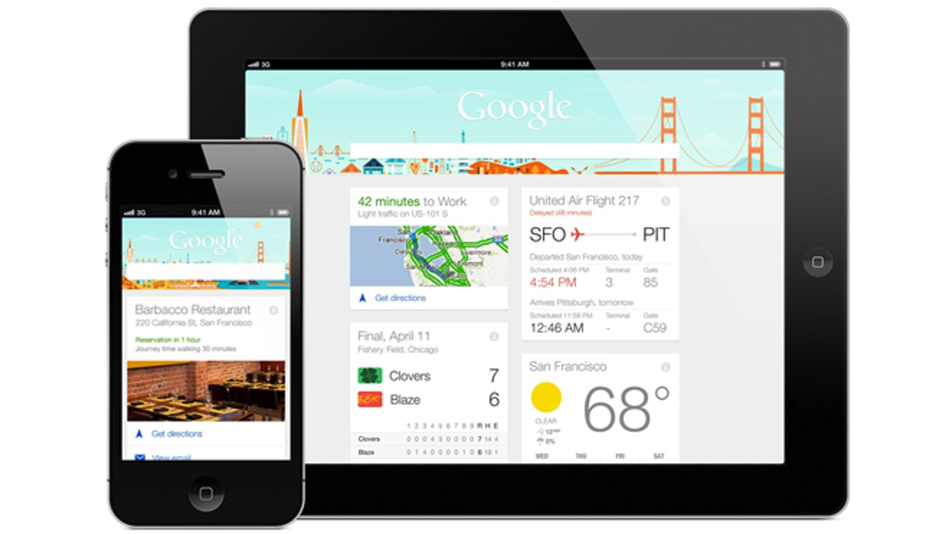 Apr. 29, 2013: Google Now, the search giant's answer to Apple's Siri, has arrived for iPhones and iPads.