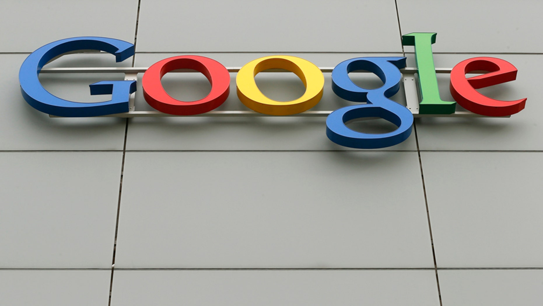 File photo - A logo is pictured at Google's European Engineering Center in Zurich April16, 2015.