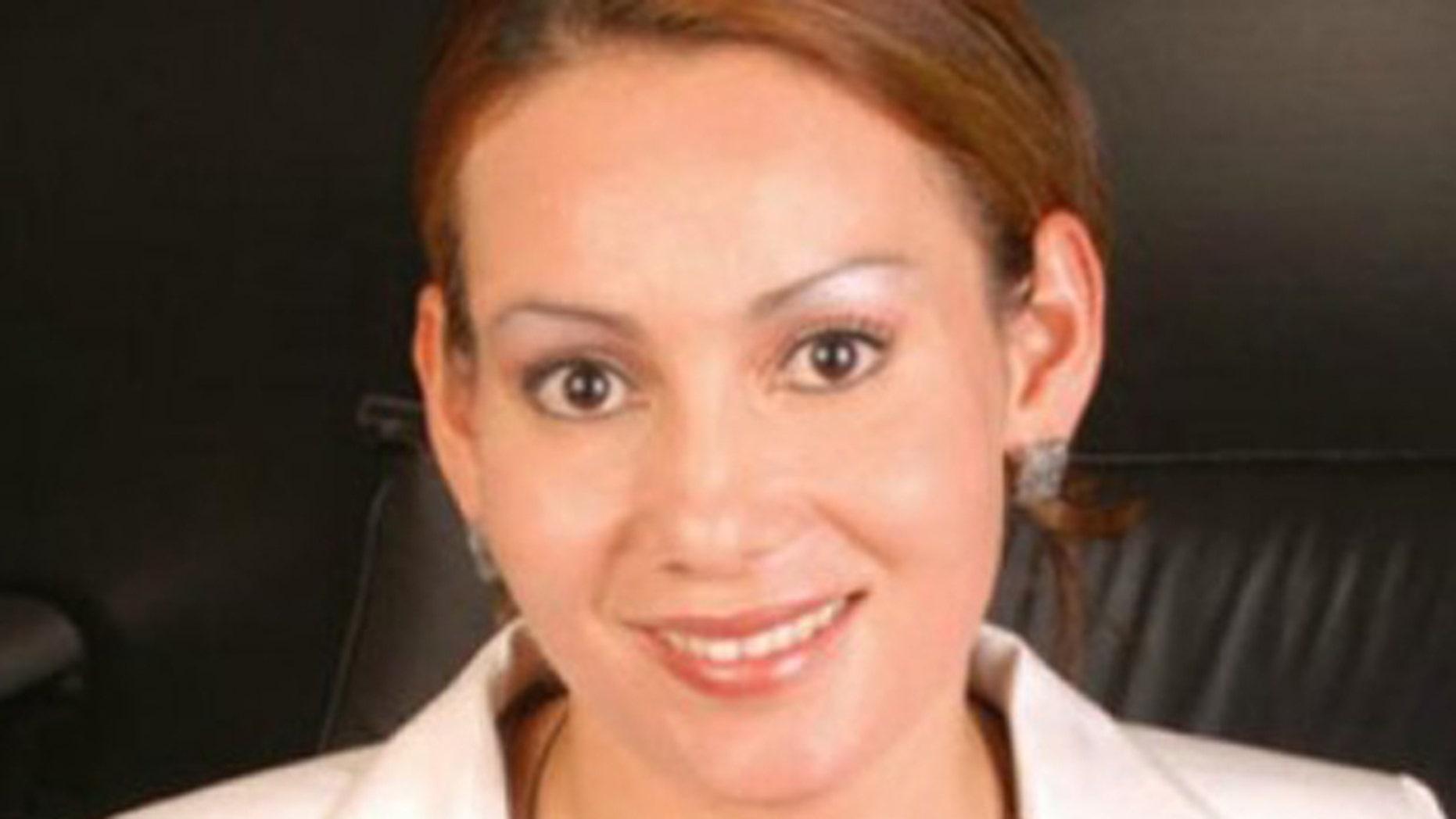 FILE photo of Maria Santos Gorrostieta