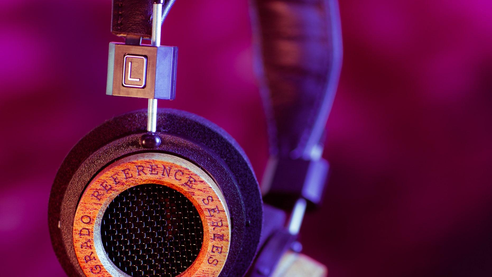 Grado headphones.