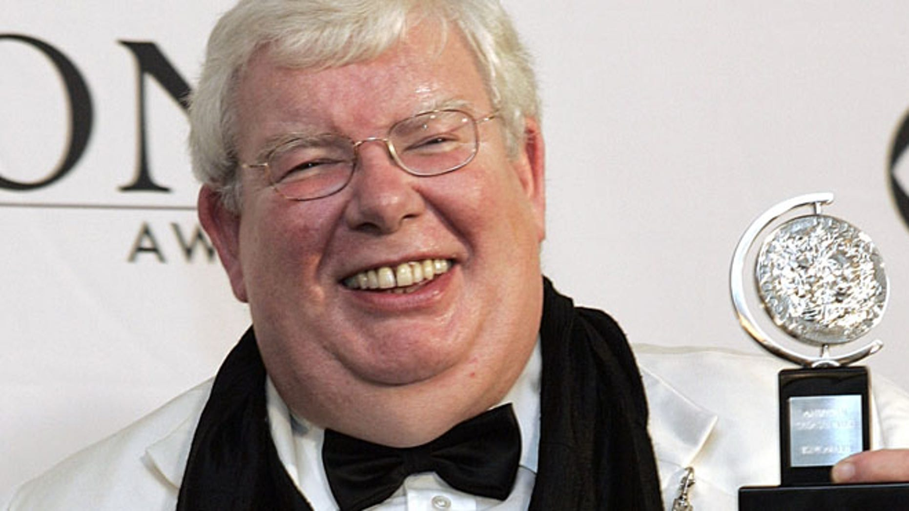 FILE 2006: Richard Griffiths at the 60th Annual Tony Awards in New York.