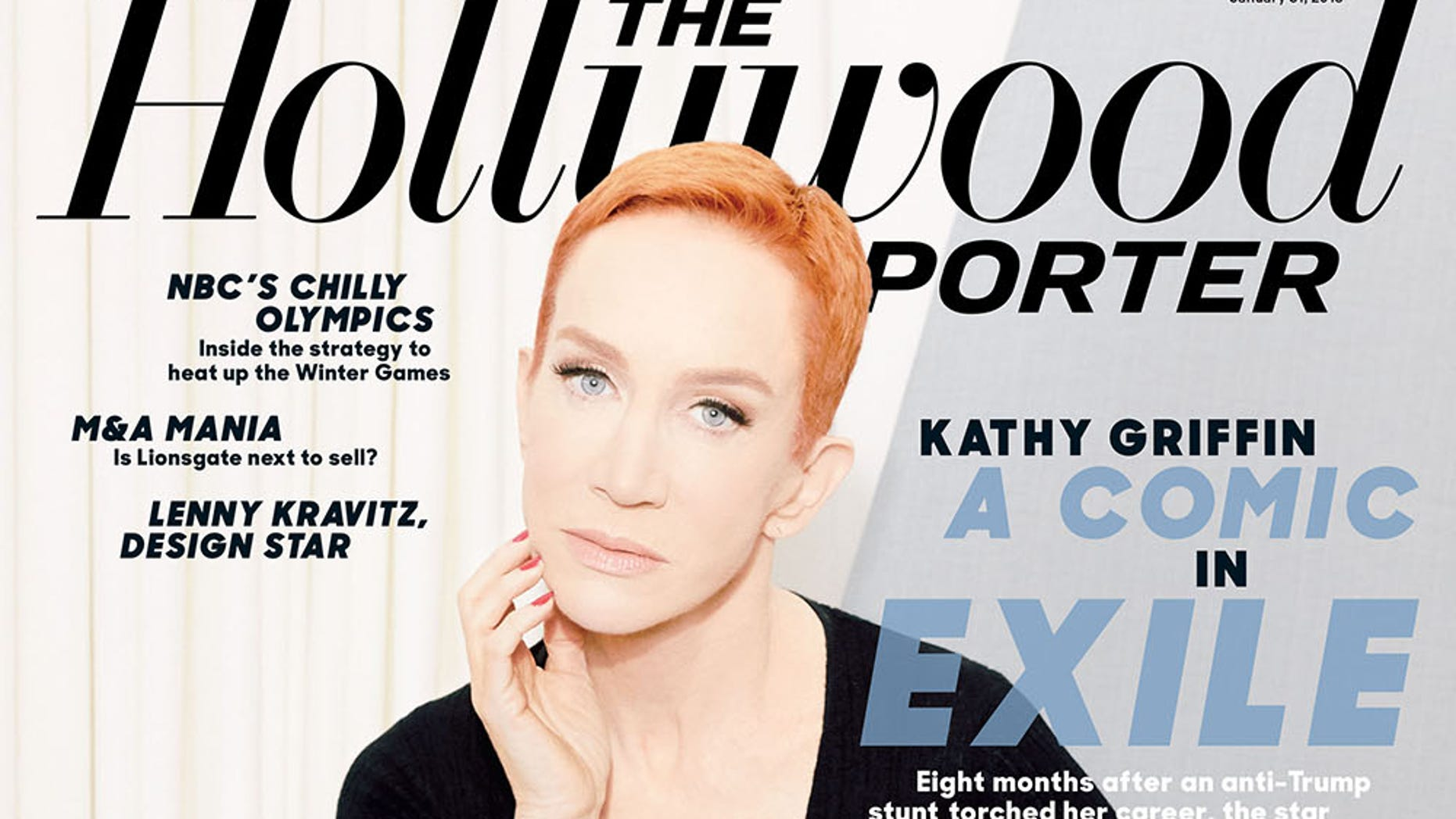 Kathy Griffin tells all to The Hollywood Reporter in its latest issue.
