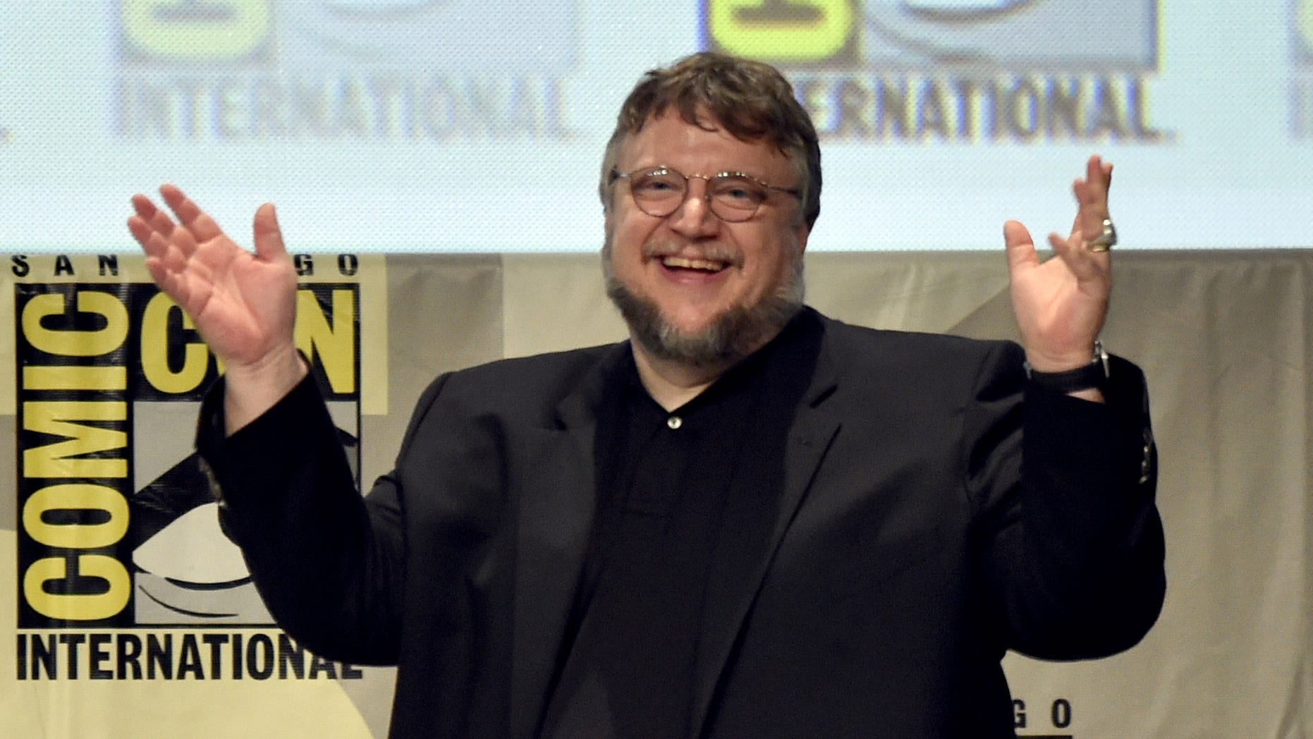 SAN DIEGO, CA - JULY 25:  Director Guillermo del Toro attends the 20th Century Fox presentation during Comic-Con International 2014 at San Diego Convention Center on July 25, 2014 in San Diego, California.  (Photo by Kevin Winter/Getty Images)
