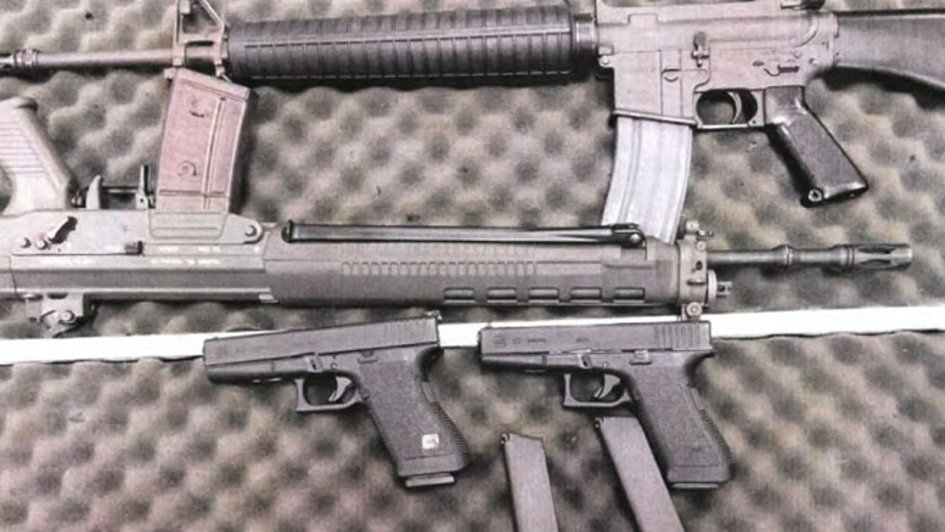 Authorities say 23-year-old Alexander Ciccolo illegally purchased four guns and planned a terror attack.