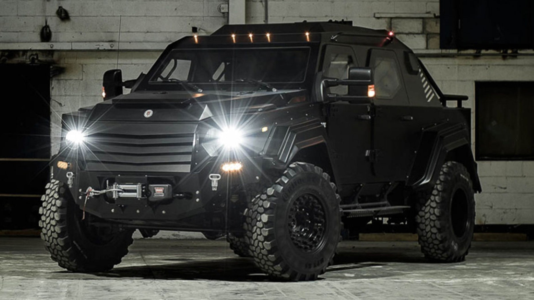 Armored Truck For Sale >> Terradyne Gurkha may be the safest Ford pickup you can buy | Fox News
