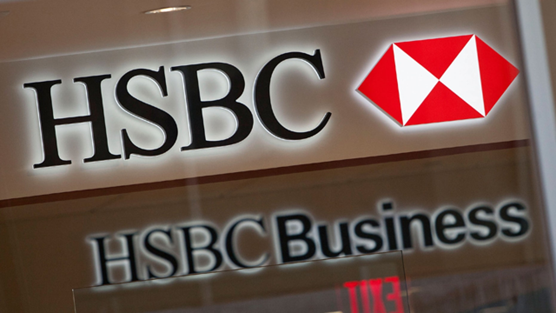 NEW YORK, NY - AUGUST 01:  A sign hangs on a HSBC Bank branch at 110 William Street August 1, 2011 in New York City. According to reports. HSBC will eliminate 30,000 jobs worldwide and sell 195 branches, mostly in upstate New York, to First Niagara Financial for about $1 billion.  (Photo by Andrew Burton/Getty Images)