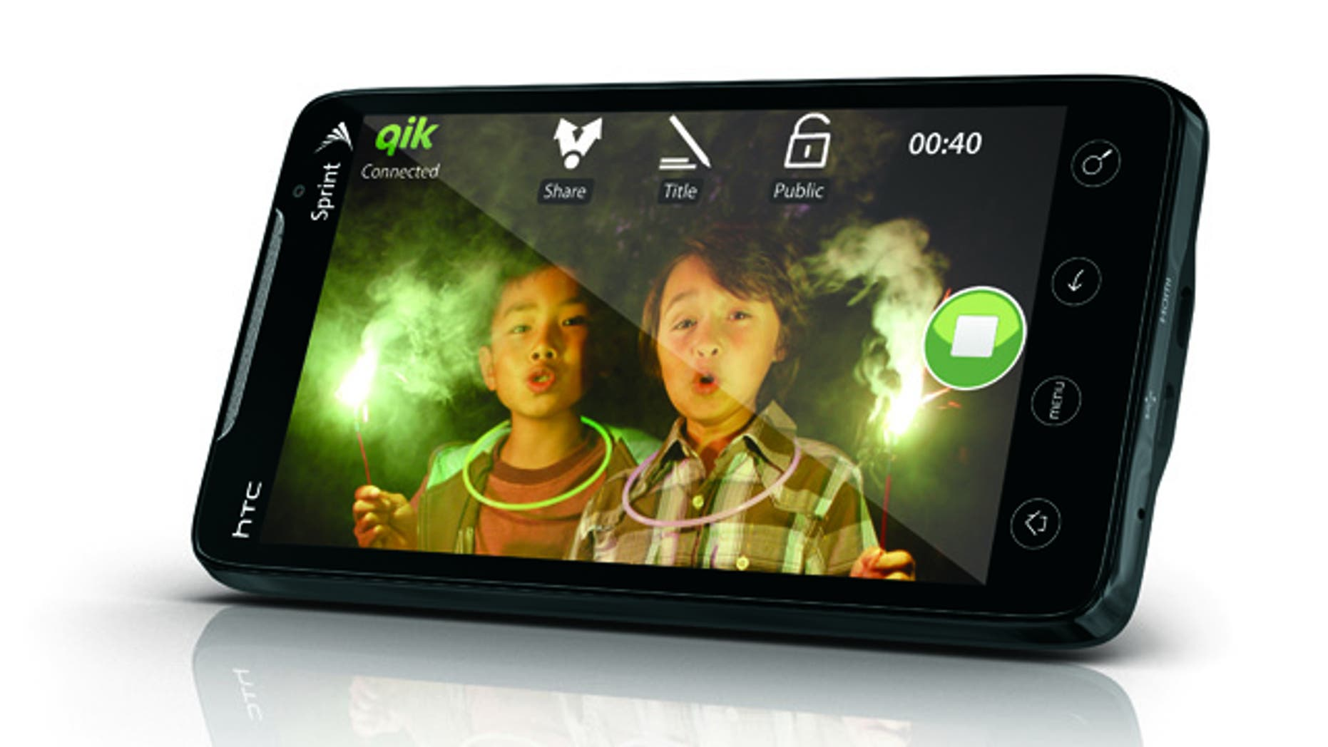The HTC Evo 4G is the first smart phone made for Sprint's fourth-generation wireless network.