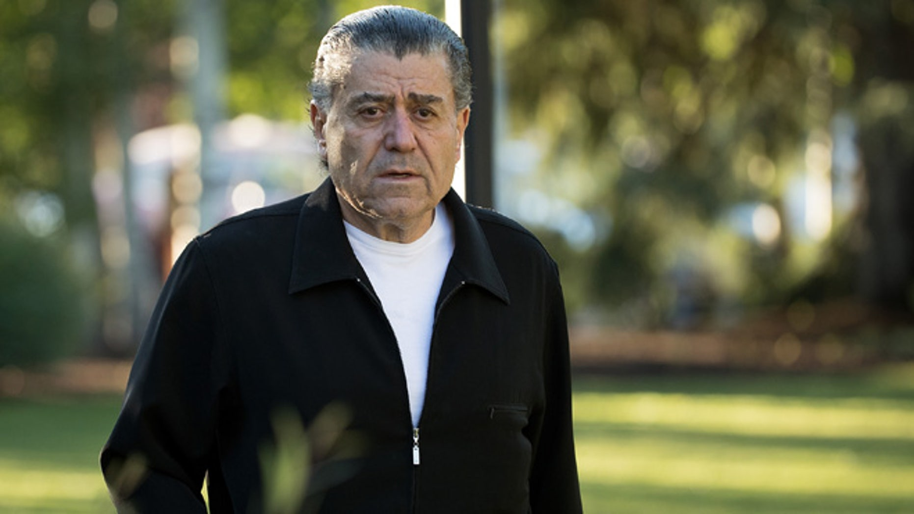 Haim Saban, chairman and chief executive officer of Saban Capital Group, attends the annual Allen & Company Sun Valley Conference, July 7, 2016 in Sun Valley, Idaho. (Photo by Drew Angerer/Getty Images)