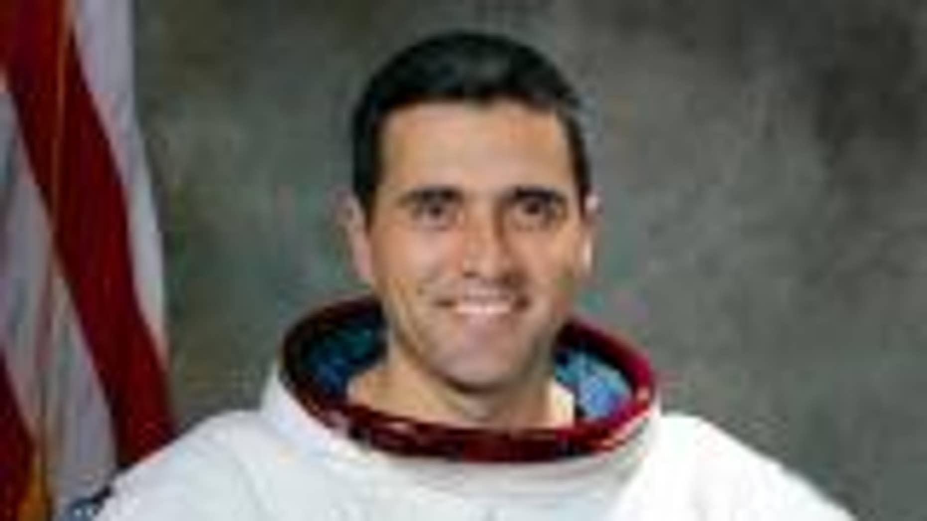 Harrison Schmitt during his time as a NASA astronaut (AP photo)