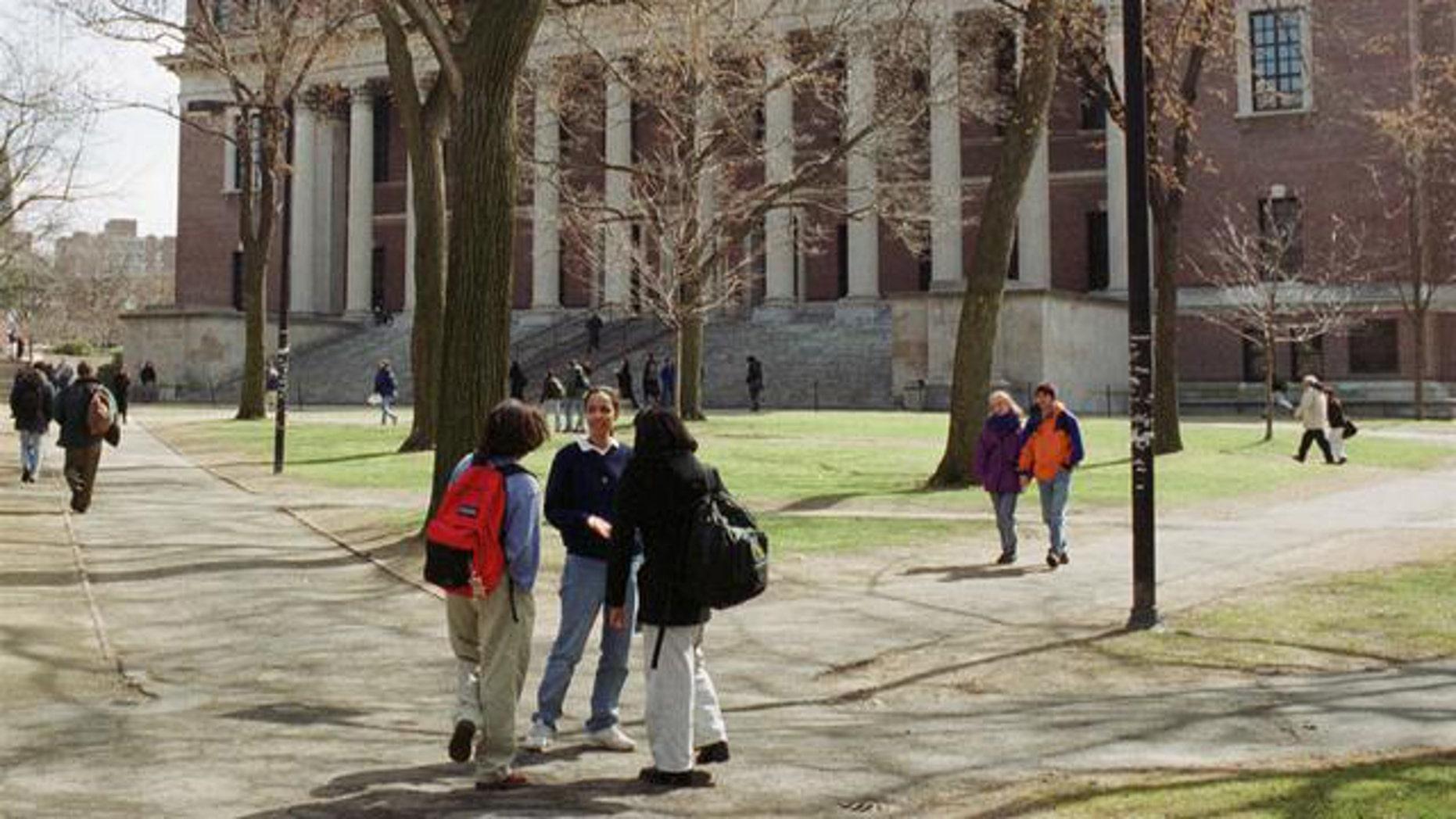 Harvard University (AP)