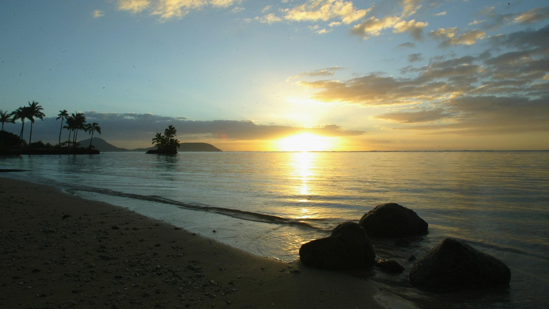 Waikiki beach in Honolulu, Hawaii. (Photo by Donald Miralle/Getty Images)