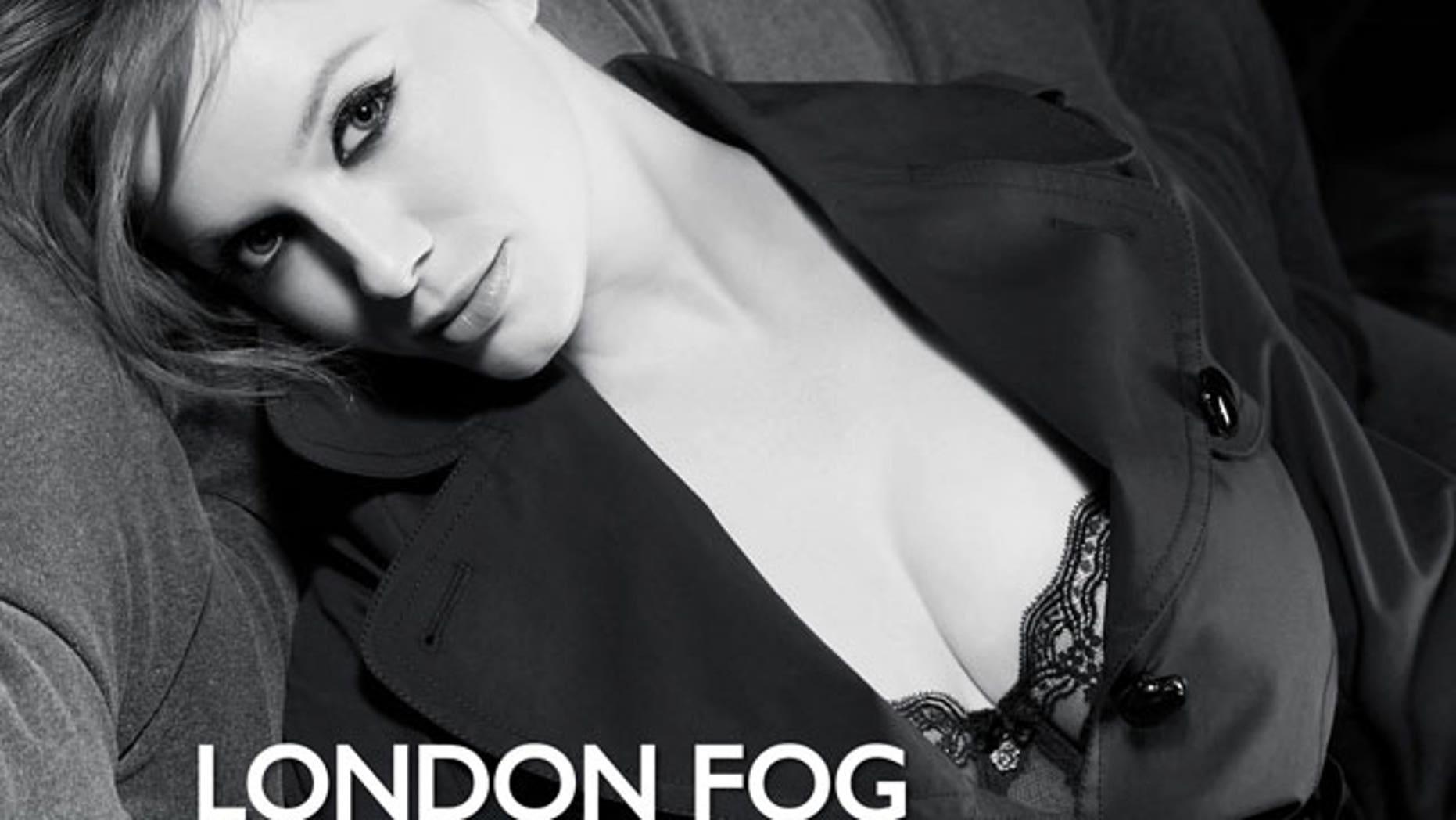 Christina Hendricks is the new celebrity spokeswoman for London Fog.