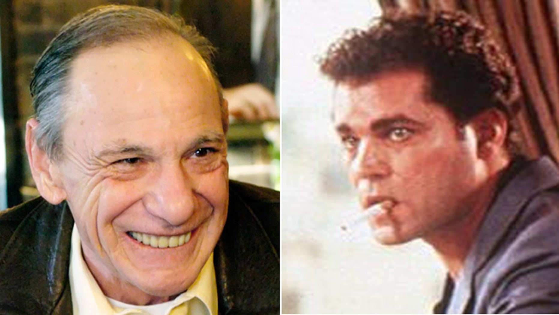 """Henry Hill, played by Ray Liotta, right, in """"Goodfellas,"""" died at 69."""