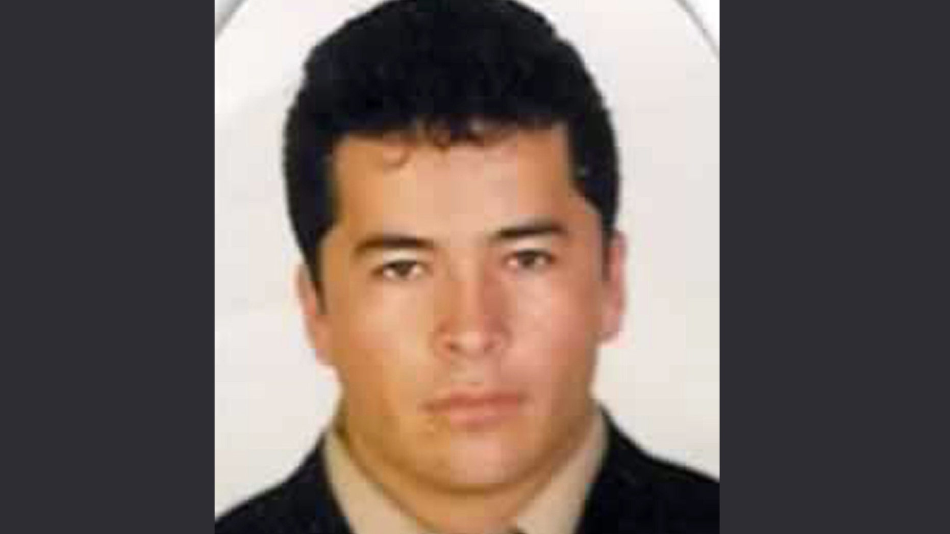 FILE - This undated file photo, downloaded from the Mexico's Attorney General's Office most wanted criminals webpage on Nov. 2, 2010, shows alleged Zeta drug cartel leader and founder Heriberto Lazcano Lazcano in an undisclosed location. (AP Photo/Mexico's Attorney General's Office, file)