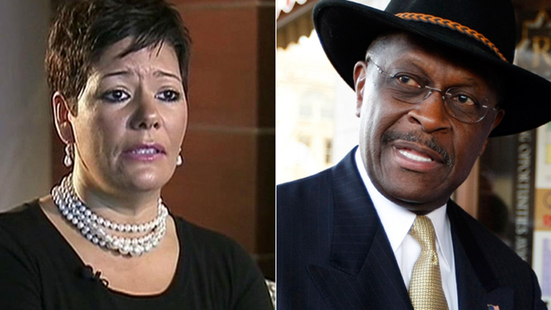 Atlanta businesswoman Ginger White says she had a 13-year affair with Republican presidential candidate Herman Cain, a claim Cain denies.