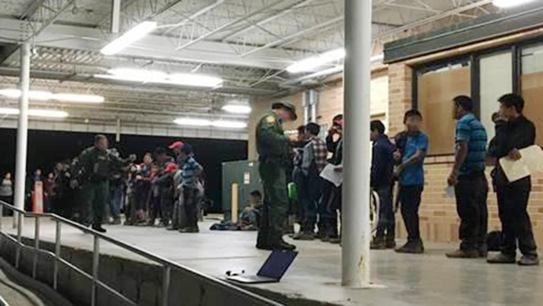 Border Patrol agents assigned to the Weslaco station apprehended two groups, consisting of 131 illegal immigrants, in little more than a day.