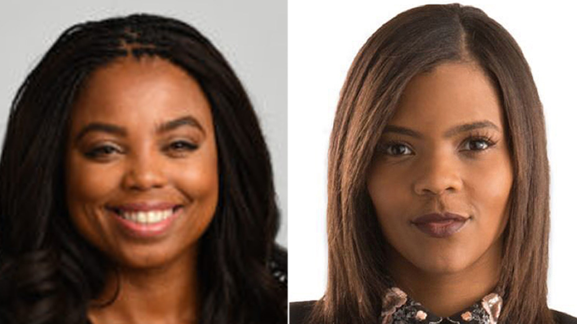 ESPN's Jemele Hill, left, was challenged by Turning Point USA communications director Candace Owens to a debate.