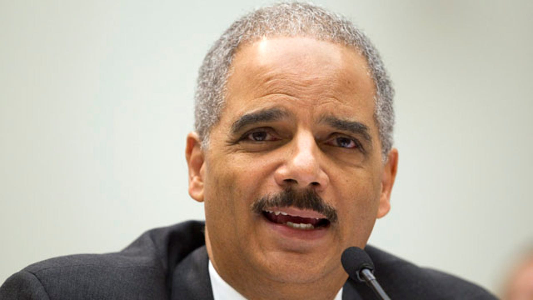 May 3: Attorney General Eric Holder testifies on Capitol Hill in Washington before a House Judiciary Committee oversight hearing.