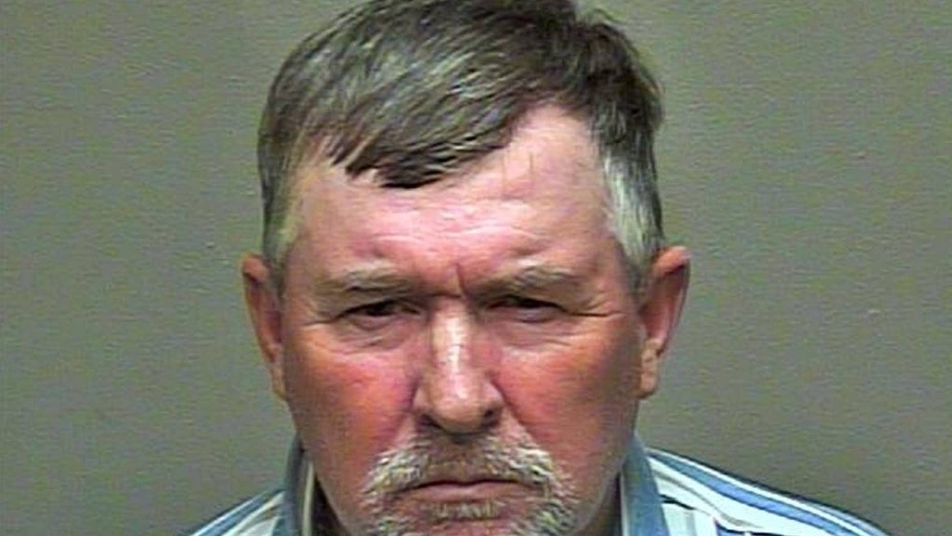 This undated photo provided by the Oklahoma County Detention Center shows Keith Bain. Oklahoma City police said Bain attacked two nurses and a security guard at Deaconess Hospital on Oklahoma City's northwest side, shortly before midnight, Monday, Dec. 8, 2014. (AP Photo/Oklahoma County Detention Center)