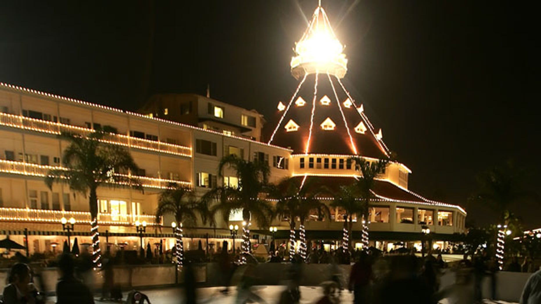 The Hotel Del Coronado in San Diego, California.