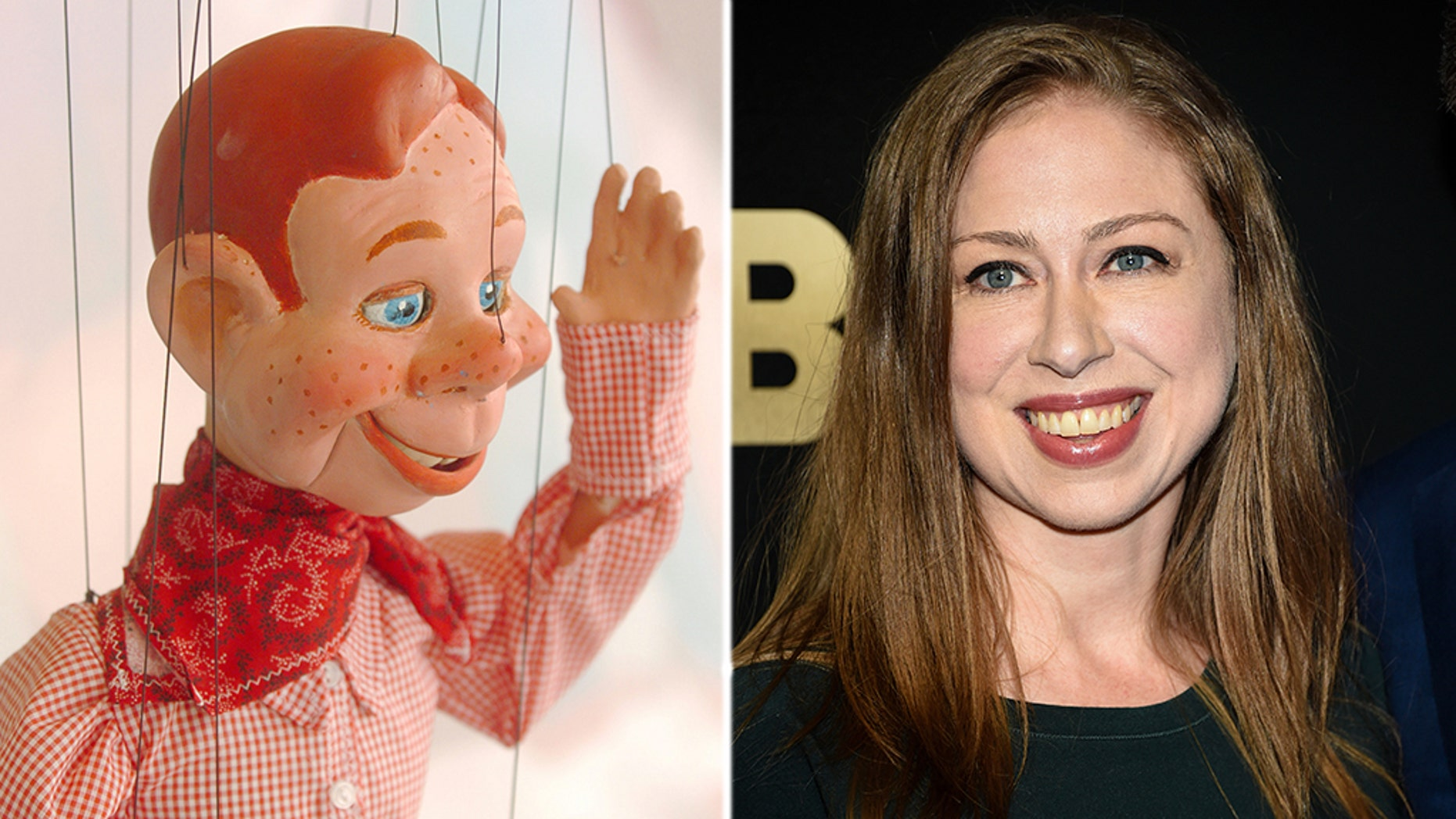 """Chelsea Clinton is firing back at """"all the people"""" who say she looks like the Howdy Doody puppet."""