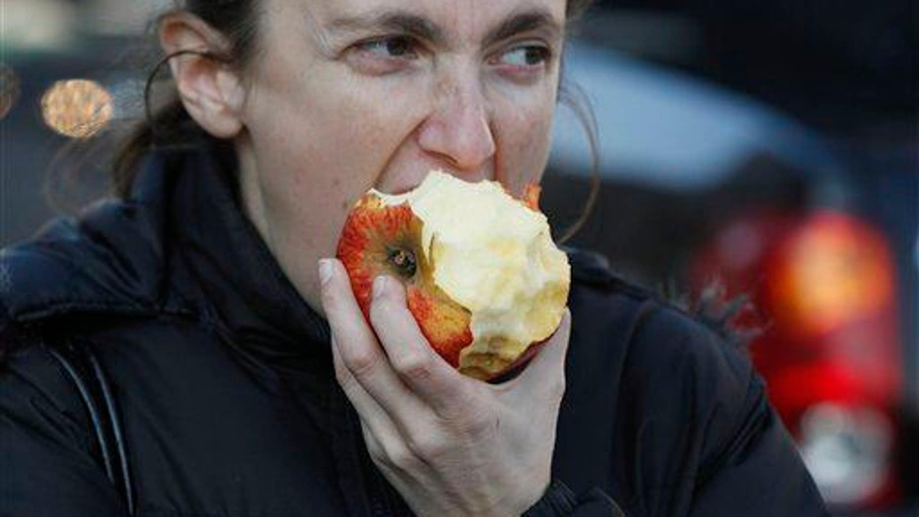 Might want to scan that apple with a laser before eating it.
