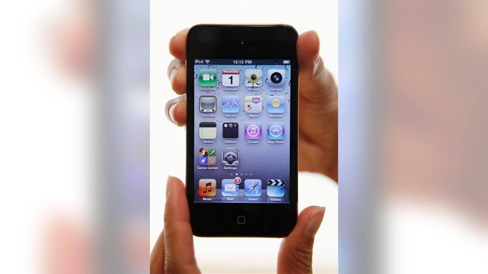 An iPod Touch helped authorities find the missing girl.