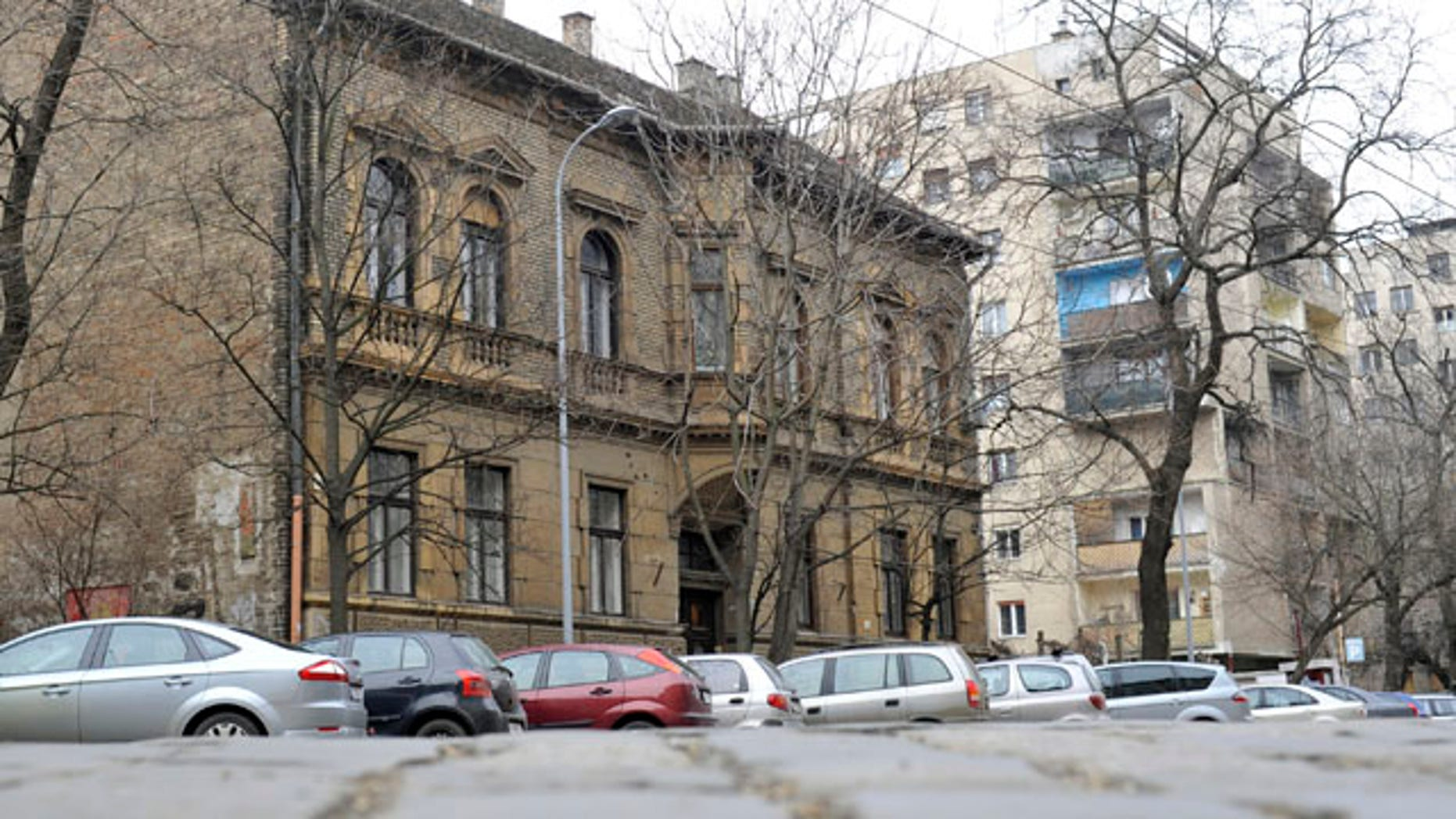 Feb. 14: General view of the house of former WWII Hungarian military officer Sandor Kepiro, who has been charged with war crimes photographed in Budapest nearly 70 years ago.