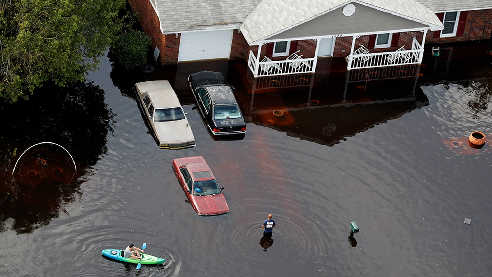 Operation BBQ Relief is bringing a traditional North Carolina staple to areas trying to recover from the former Hurricane Florence, including Fayetteville (pictured).