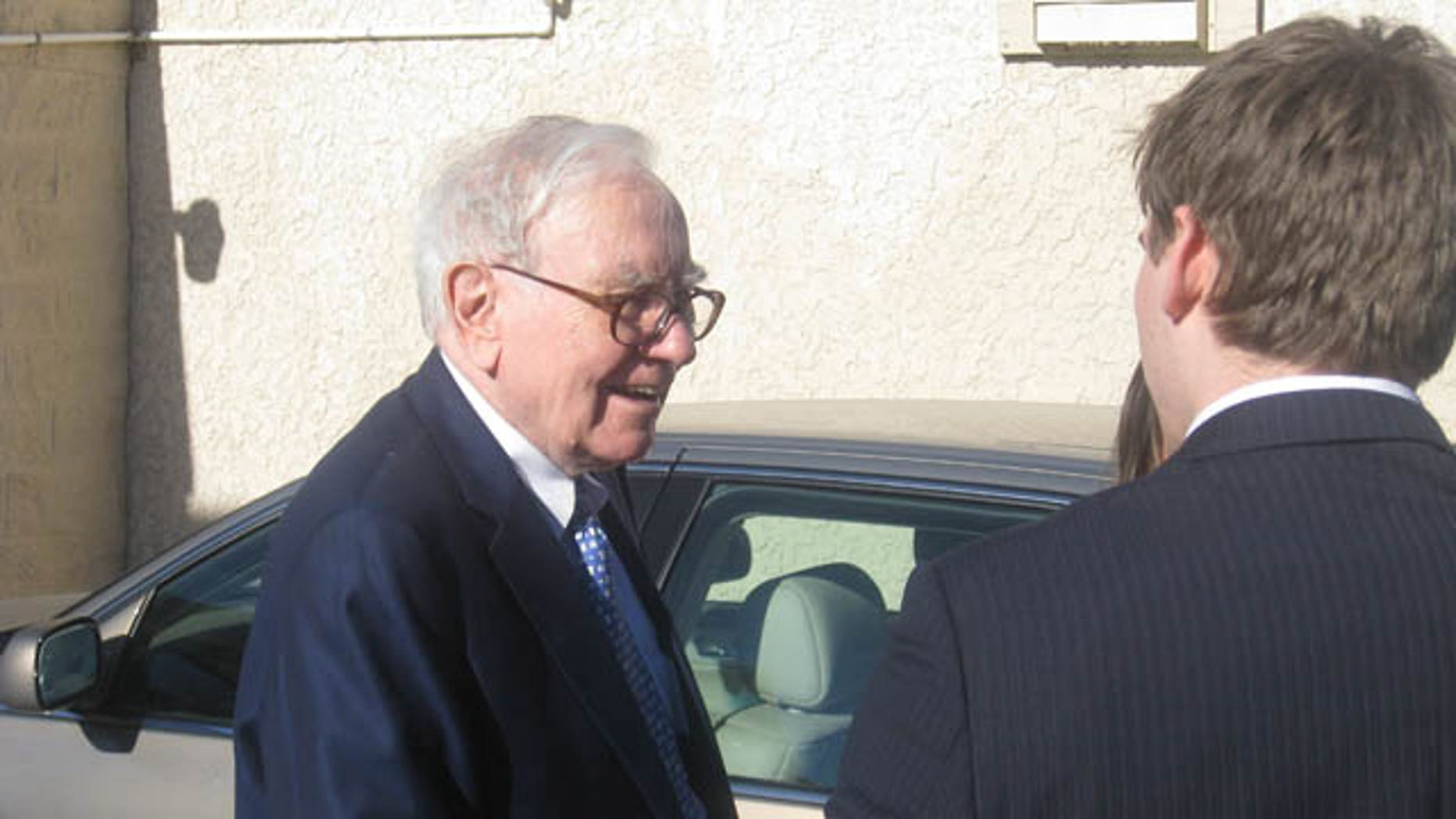 This photo shows Warren Buffett.