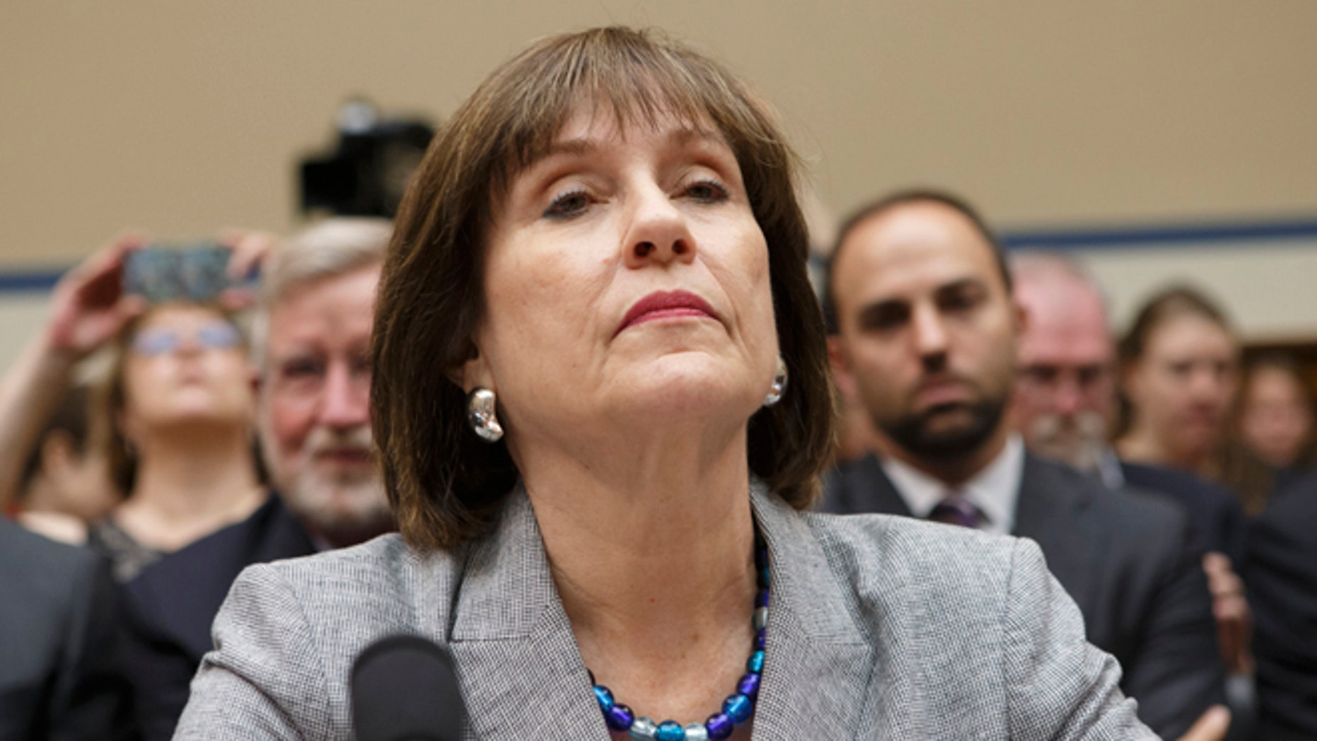 This May 22, 2013 file photo shows IRS official Lois Lerner on Capitol Hill in Washington.