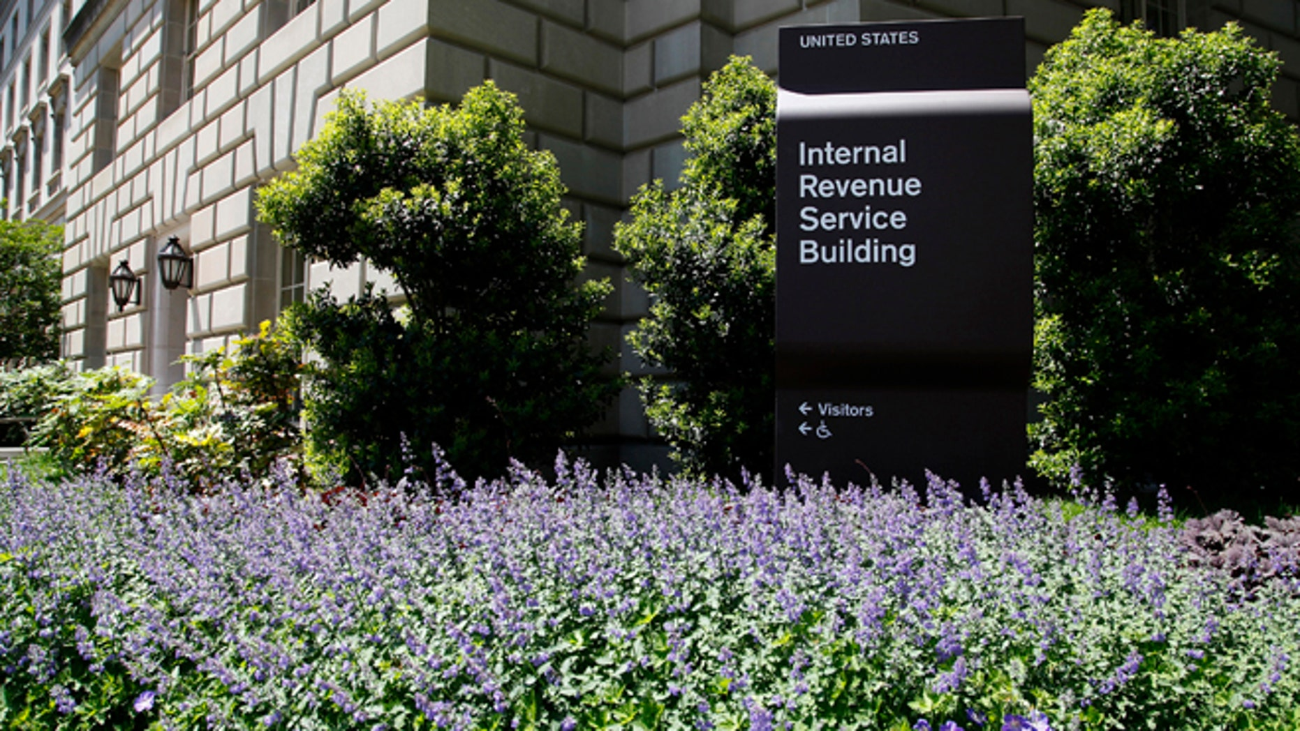 May 14, 2013: A general view of the Internal Revenue Service (IRS) Building in Washington.
