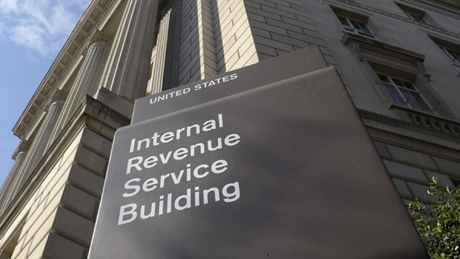 In this March 22, 2103 file photo, the exterior of the Internal Revenue Service (IRS) building is seen in Washington.