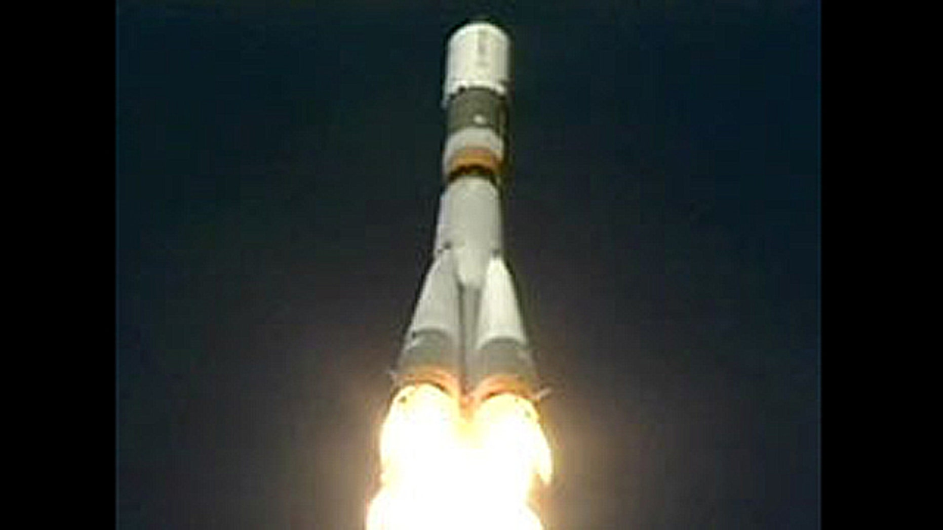 Oct. 30, 2011: The unpiloted ISS Progress 45 cargo craft launches from the Baikonur Cosmodrome in Kazakhstan.