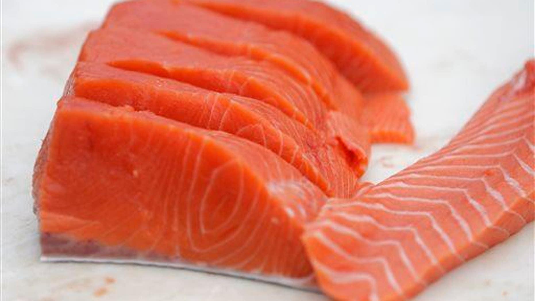 Mmm, omega-3 fatty acids.