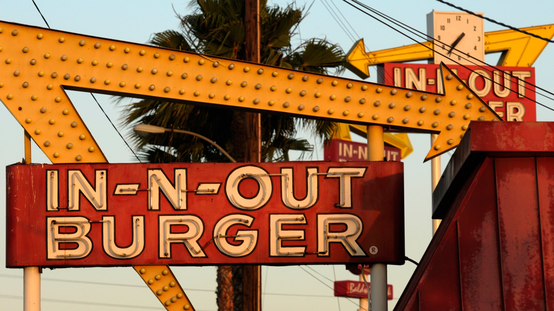 "In-N-Out says the Down N' Out restaurants are misleading customers into thinking In-N-Out gave its ""endorsement, approval, license, authority or sponsorship"" to the Aussie chain."