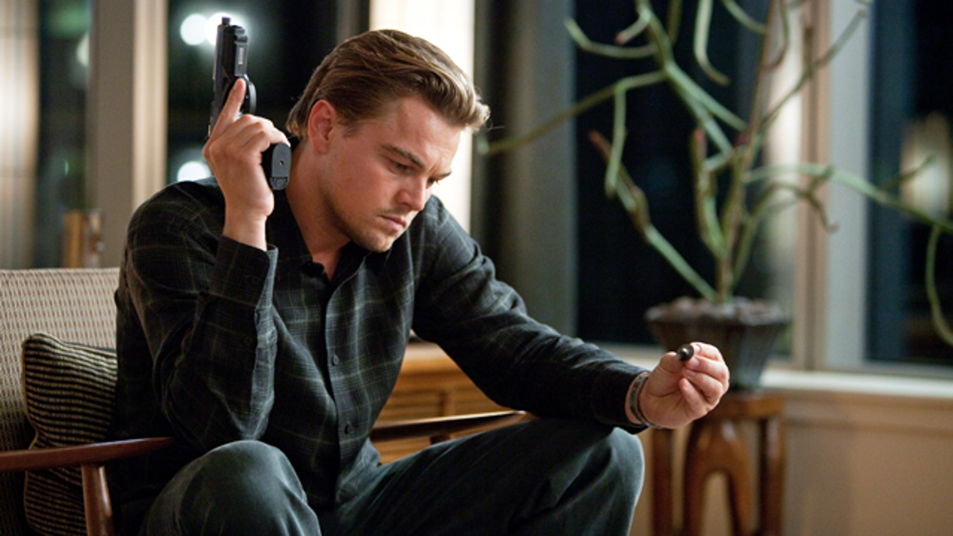 Leonardo DiCaprio is shown in a scene from 'Inception.' (AP)